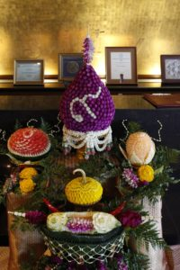 International Association of Universities Fruit Carving Activity Results