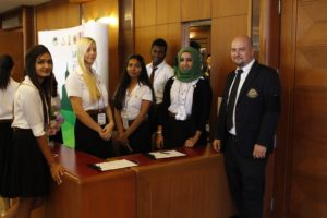 IAU Siam University Students Prepare for the First Day